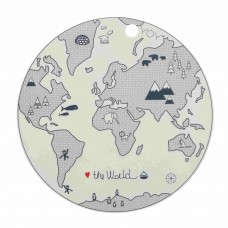 PLACEMAT, THE WORLD