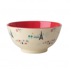 MELAMINE BOWL, PARIS PRINT