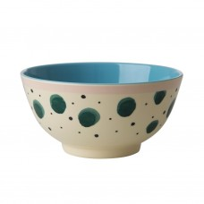 MELAMINE BOWL, WATERCOLOUR SPLASH PRINT