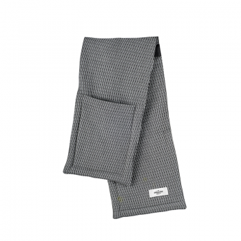THE ORGANIC COMPANY OVEN GLOVES - EVENING GREY