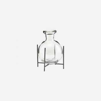 HOUSE DOCTOR VASE LANA CLEAR