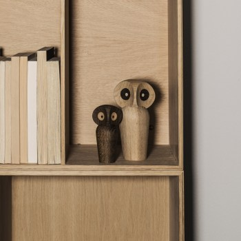ARCHITECTMADE OWL SMALL SMOKED OAK