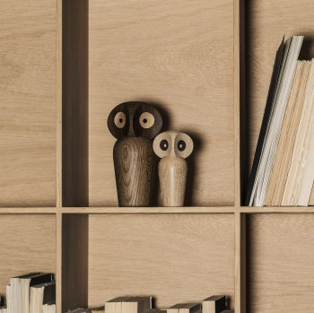 ARCHITECTMADE OWL SMALL OAK